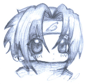 Sasuke Surprised Sketch